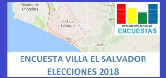 Encuesta Alcaldía de Villa El Salvador – Marzo 2018