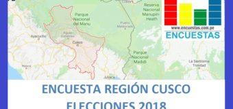 Encuesta Región Cusco – Enero 2018