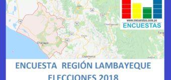 Encuesta Gobierno Regional de Lambayeque – Marzo 2018